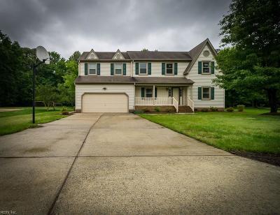 Poquoson Single Family Home For Sale: 29 Ferguson St