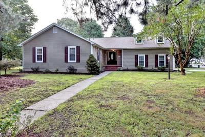Poquoson Single Family Home Under Contract: 24 Carriage Hill Dr