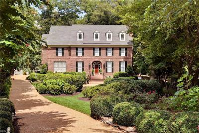 Williamsburg Single Family Home For Sale: 100 Sparks Ct