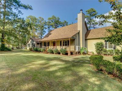 Isle of Wight County Single Family Home For Sale: 23229 Kings Cove Way