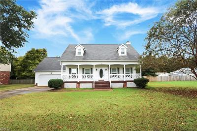 Isle of Wight County Single Family Home Under Contract: 201 Azalea Dr