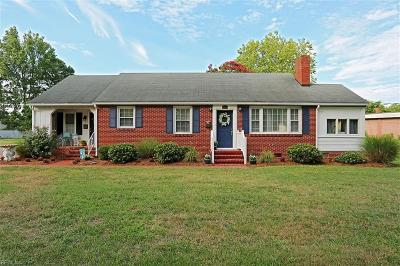 Poquoson Single Family Home Under Contract: 721 Poquoson Ave