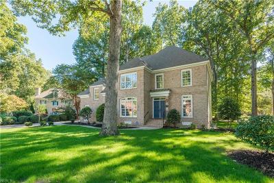 Newport News Single Family Home Under Contract: 406 Regents Cv