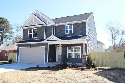 Isle of Wight County Single Family Home Under Contract: 24210 Sugar Hill Rd