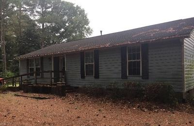 Hayes Single Family Home For Sale: 2048 Grace St