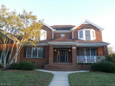 Suffolk Single Family Home For Sale: 115 Nansemond Pointe Dr