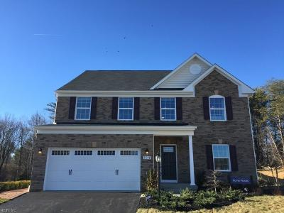 Newport News Single Family Home Under Contract: 204 Starling Cir