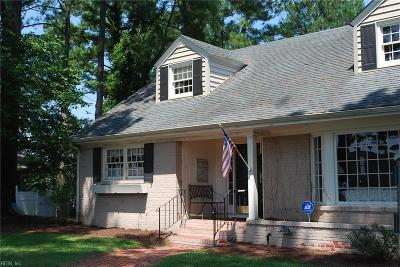 Isle of Wight County Single Family Home For Sale: 504 Jordan Ave