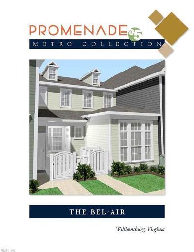 James City County Single Family Home Under Contract: 90 Promenade Ln #9-2
