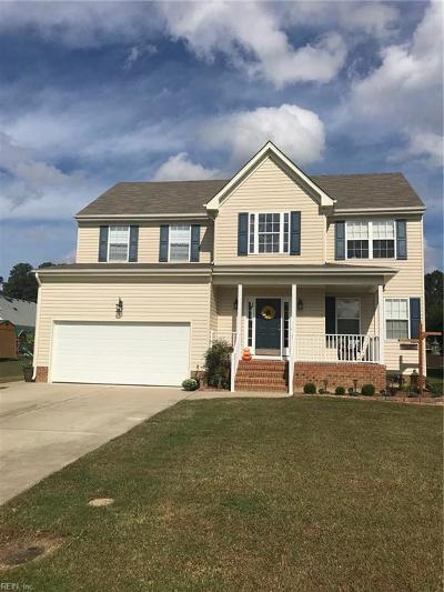 Isle of Wight County Single Family Home For Sale: 11397 Shiloh Dr