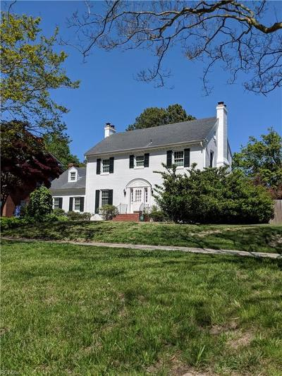 Portsmouth Single Family Home For Sale: 307 Park Rd