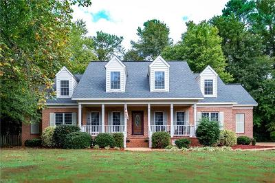 Poquoson Single Family Home For Sale: 1 Rogers Ln