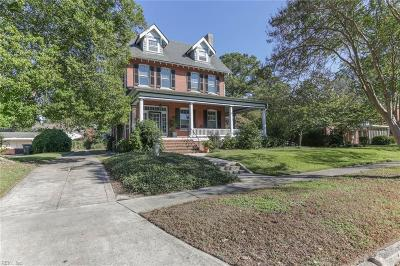 Norfolk Single Family Home For Sale: 938 Hanover Ave