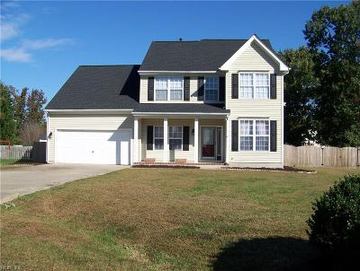 Isle of Wight County Single Family Home For Sale: 105 Great Oak Cir