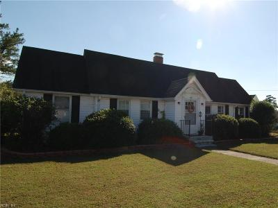 Isle of Wight County Single Family Home Under Contract: 102 Lumar Rd