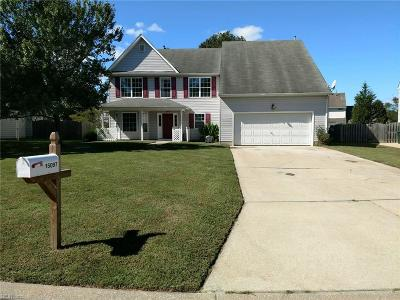 Isle of Wight County Single Family Home For Sale: 15097 Larkspur Ct