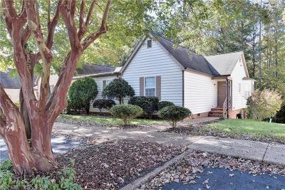 James City County Single Family Home Under Contract: 5320 Highgate Green