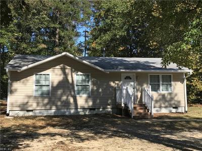 James City County Single Family Home For Sale: 3824 Longhill Rd