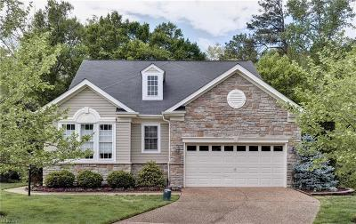 James City County Single Family Home Under Contract: 4724 Levingston Ln