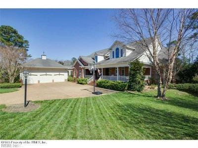 James City County Single Family Home For Sale: 169 Waterton