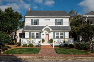 Virginia Beach Single Family Home Under Contract: 207 44th St