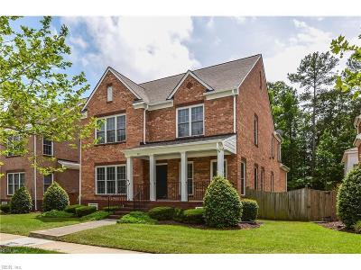 Newport News Single Family Home For Sale: 345 Herman Melville