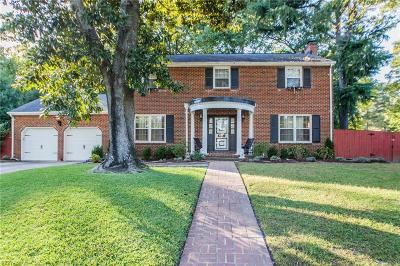 Norfolk Single Family Home For Sale: 6851 Fordwick Dr