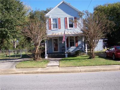 Isle of Wight County Single Family Home For Sale: 230 Cary St