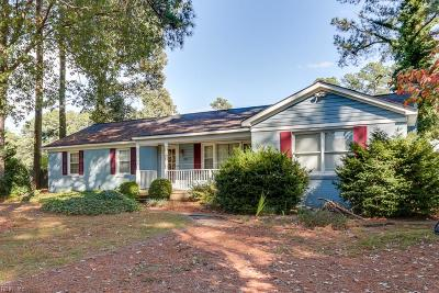 Hayes Single Family Home For Sale: 2077 Sarahs Creek Woods Rd
