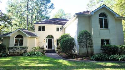 Virginia Beach Single Family Home For Sale: 2801 Forest Hills Ct