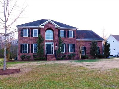 Suffolk Single Family Home For Sale: 6107 Gardenbrook Pl