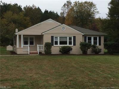 Gloucester Single Family Home For Sale: 9922 John Clayton Memorial Hwy