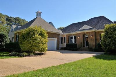 James City County Single Family Home For Sale: 104 Country Club Dr