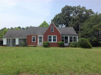 Isle of Wight County Single Family Home For Sale: 33048 Harvest Dr