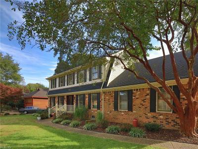 Norfolk Single Family Home For Sale: 1913 Grayfalcon Dr