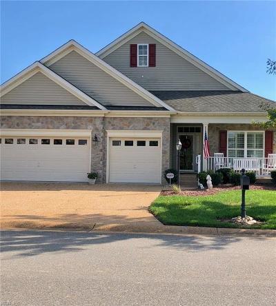 James City County Single Family Home Under Contract: 4263 Harrington Commons