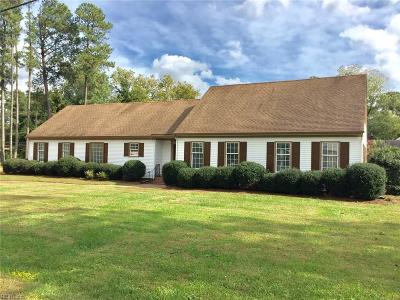 Portsmouth Single Family Home For Sale: 3113 Laurel Ln