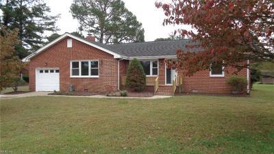 Chesapeake Single Family Home For Sale: 3901 Portsmouth Blvd