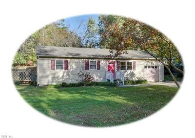 James City County Single Family Home Under Contract: 107 Pemberton Ln