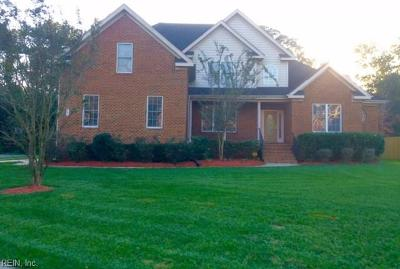 Chesapeake Single Family Home For Sale: 400 Midlands Ln