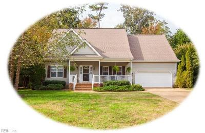 James City County Single Family Home Under Contract: 3772 Captain Wynne Dr