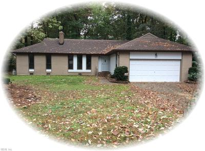 York County Single Family Home For Sale: 106 Tuckahoe Trce