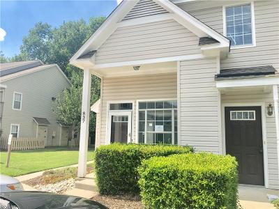 Virginia Beach Single Family Home Under Contract: 837 Whistling Swan Dr