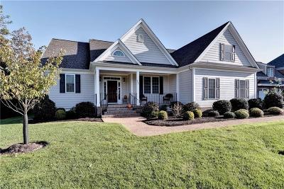 James City County Single Family Home For Sale: 3227 St James Park