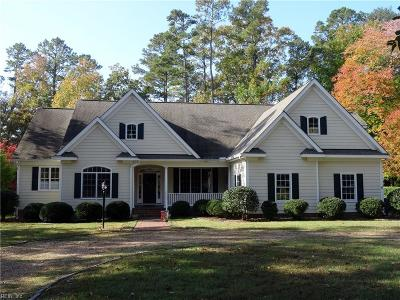 Isle of Wight County Single Family Home For Sale: 904 Smithfield Blvd