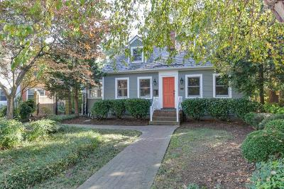 Hampton Single Family Home For Sale: 3506 Spottswood Pl