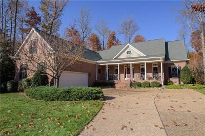 James City County Single Family Home For Sale: 5104 Shoreline Ct