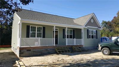James City County Single Family Home For Sale: 130 Howard Dr