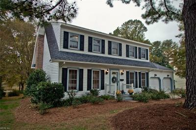 Newport News Single Family Home For Sale: 88 Anchorage Dr