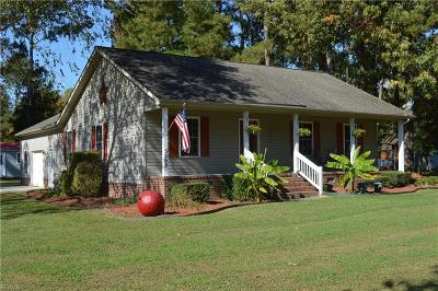 Isle of Wight County Single Family Home For Sale: 3208 South Shore Dr